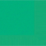 Festive Green 2-Ply Lunch Napkins