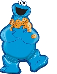 SuperShape™ Jumbo Cookie Monster