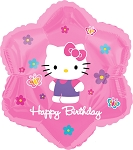 18in Hello Kitty Flowers & Butterflies Birthday
