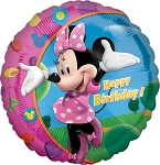 18in Minnie Happy Birthday