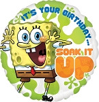 18in SpongeBob Birthday