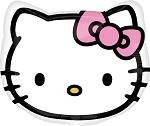 18in Hello Kitty Head