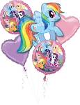 My Little Pony Birthday  Balloon Bouquet