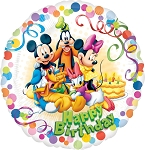 18in Mickey & Friends HBD