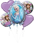 Frozen Birthday Balloon Bouquet