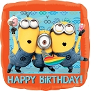 18in Despicable Me HBD