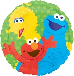 17in Sesame Street Gang