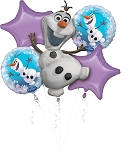 Frozen - Olaf Balloon Bouquet