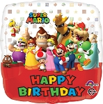 18in Super Mario Bros. Happy Birthday