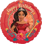 18in Elena of Avalor Happy Birthday