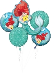 Little Mermaid Ariel Dream Big Balloon Bouquet