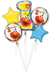 Elmo 1st Birthday Balloon Bouquet