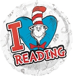 18in Dr. Seuss I Luv Reading