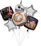 Star Wars BB8 Balloon Bouquet