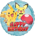 18in Pokemon HBD