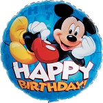18in Mickey Happy Birthday