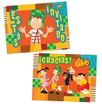 El Chavo 8 ct. Invitations