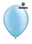 11in Pearl Azure Latex Balloon - 100 ct