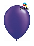11in Pearl Quartz Purple Latex Balloon - 100 ct