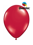11in Ruby Red Latex Balloon - 100 ct