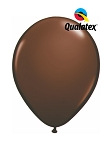11in Chocolate Brown Latex Balloon - 100 ct