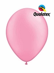 11in Neon Pink Latex Balloon - 100 ct