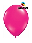 11in Jewel Magenta Latex Balloon - 100 ct