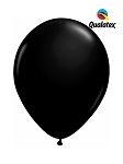 5in Onyx Black Latex Balloons - 100 ct