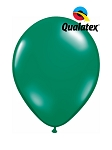 5in Emerald Green Latex Balloons - 100 ct
