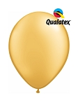 5in Gold Latex Balloons - 100 ct