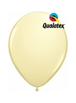 5in Ivory Silk Latex Balloons - 100 ct