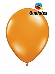 5in Mandarin Orange Latex Balloons - 100 ct