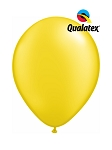 5in Pearl Citrine Yellow Latex Balloons - 100 ct