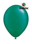 5in Pearl Emerald Green Latex Balloons - 100 ct