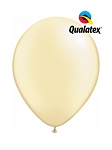 5in Pearl Ivory Latex Balloons - 100 ct