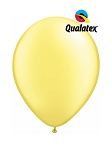 5in Pearl Chiffon Lemon Latex Balloons - 100 ct