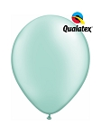 5in Pearl Mint Green Latex Balloons - 100 ct