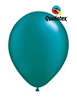 5in Pearl Teal Latex Balloons - 100 ct