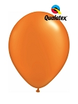 5in Pearl Mandarin Orange Latex Balloons - 100 ct