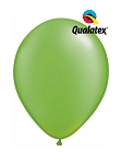 5in Pearl Lime Green Latex Balloons - 100 ct