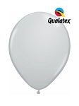 5in Gray Latex Balloons - 100 ct