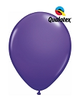 5in Purple Violet Latex Balloons - 100 ct