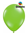 5in Jewel Lime Latex Balloons - 100 ct