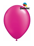 5in Pearl Magenta Latex Balloons - 100 ct