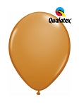 5in Mocha Brown Latex Balloons - 100 ct