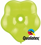 16in Geo Blossom Lime Green Latex Balloon - 25 ct