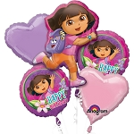 Dora The Explorer Balloon Bouquet