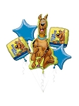 Scooby-Doo Close Up Balloon Bouquet