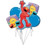 Sesame 1st Birthday  Balloon Bouquet