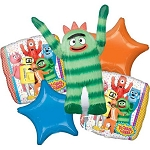 Yo Gabba Gabba Balloon Bouquet